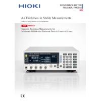 Hioki RM3542-01 Resistance Meter - Datasheet