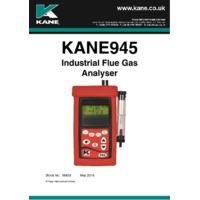 Kane 945 Flue Gas Analyser - User Manual