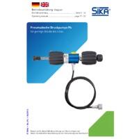 Sika P4 Pressure Pump - User Manual