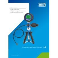Sika P120T Pneumatic Test Pump - Datasheet