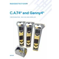 Radiodetection gCAT4 and gCAT4 Plus Cable Avoidance Tools - Datasheet
