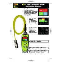 TPI 9071 Vibration Meter - User Manual