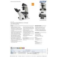 Kern OCM Inverted Microscope - Brochure