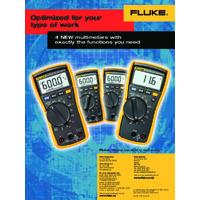 Fluke 117 Digital Multimeter - Datasheet
