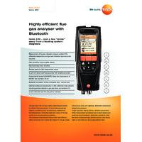New 2017 Testo 320 - Datasheet