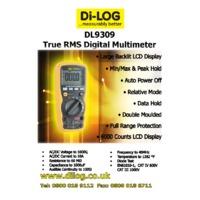 DL9309 Specification Sheet