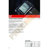 Sauter Leeb HK Series Hardness Tester - All Sauter Hardness Tester Data Sheets