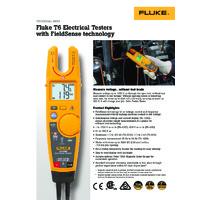Fluke T6 Electrical Tester - Datasheet