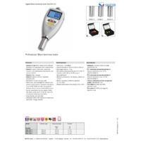 Sauter HD Series Hardness Tester - Datasheet