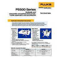 Fluke 5500 Series Pressure Comparator - Datasheet