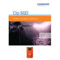 Crowcon Clip SGD Docking Station - Datasheet