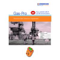 Crowcon Gas Pro IR Detector - Datasheet