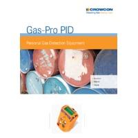 Crowcon Gas Pro PID Detector - Datasheet
