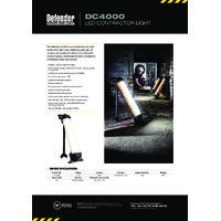 Defender DC4000 LED Contractor Light - Datasheet