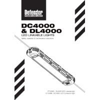 Defender DC4000 LED Contractor Light - User Manual