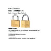 ABUS 713 Brass Padlocks - Datasheet