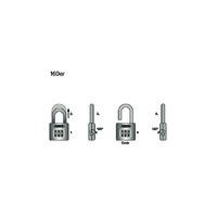 ABUS 160 Prestige Code Combination Lock - Operating Instructions