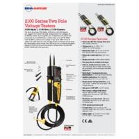 Amprobe 2100-Series Two Pole Voltage Tester - Datasheet