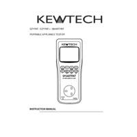 Kewtech EZYPAT PAT Tester - User Manual