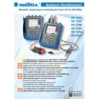 Chauvin Arnoux OX7204-CSD Oscilloscope - Datasheet