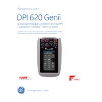GE Druck DPI 620 Genii Multifunction Calibrator - Datasheet