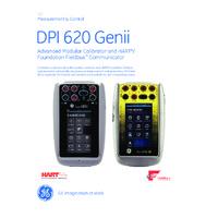 GE Druck DPI 620 GENII IS Calibrator - Datasheet
