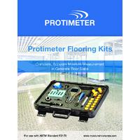 Protimeter Flooring Kits - Datasheet