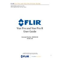 FLIR Vue Pro and Pro R Thermal Imaging Camera - User Manual