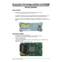 Chauvin Arnoux Metrix® DOX2000B Series Benchtop Digital Oscilloscopes - Function Demonstration