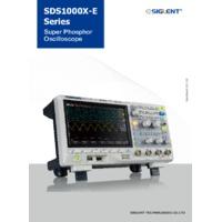 SDS1104X-E - DataSheet