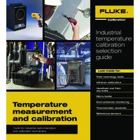 Fluke Industrial Temperature Calibrator Selection Guide