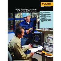 Fluke 418X Infrared Calibrators - Datasheet