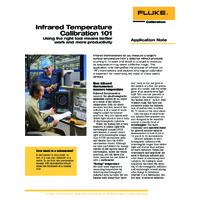 Fluke's Guide to Infrared Temperature Calibration