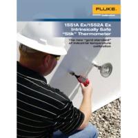Fluke 1551A and 1552A Calibration Stik Thermometers - Datasheet