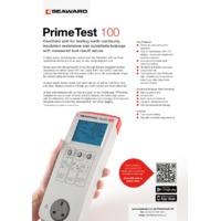 Seaward PrimtTest 100 - Datasheet
