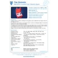 Time Electronics 5068 Insulation Tester Calibrator - Datasheet