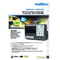 Chauvin Arnoux DOX3000 Oscilloscopes - Datasheet