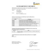Comark SK29M Pipe Probe with Velcro Strap - Declaration of Conformity