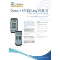 Comark KM3X0 Industrial Thermometer (Type K) - Datasheet