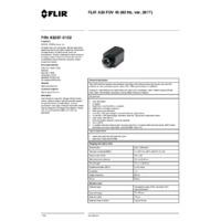 FLIR A35 Thermal Imaging Camera -  FOV 45 (60Hz ver. 2017) - Datasheet