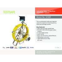 TestSafe Industrial Video Drain Pipe Inspection Camera - Datasheet