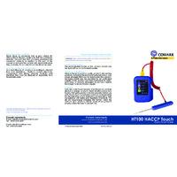 Comark HT100- PK19 HACCP Touch Temperature Data Recorder with PK19M Probe - Quick Start Guide