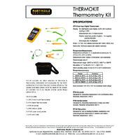 Martindale DT175 Thermometer Kit - Datasheet