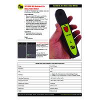 TPI SP1000 Smart Ambient CO2 Meter - Datasheet