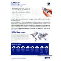 FilesThruTheAir EL-MOTE-T+ Cloud Connected Temperature Data Loggers - High Accuracy - Datasheet