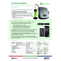 FilesThruTheAir EL-SMS-2G-VAC Vaccine Temperature Monitor +SMS Alerts - Datasheet