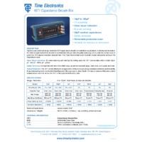 Time Electronics Capacitance Box (10pF - 100uF)