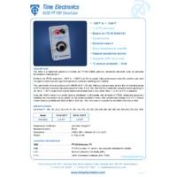 Time Electronics PT100 Simulator Handheld (Class A Degrees C)