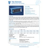 Time Electronics Resistance Box (1 Ohm - 100M Ohm)