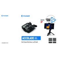 Pulsar Accolade XP50 50Hz Thermal Imaging Binoculars - User Manual
